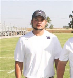 Brock Wardlaw was named the new Minco High School football coach. He worked as a defensive coach last year and will bring his brother, Brady, to the coaching staff as a offensive coach.