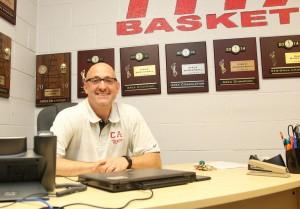 Tim Flanigan recently resigned as Carl Albert High School's girls basketball head coach. (Staff photo by Jeff Harrison)