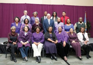 Members of the MLK Prayer Breakfast committee take a group photo at last year's event. The group will host its 20th annual MLK Breakfast on Monday, Jan. 16 at the Reed Conference Center. (File photo)