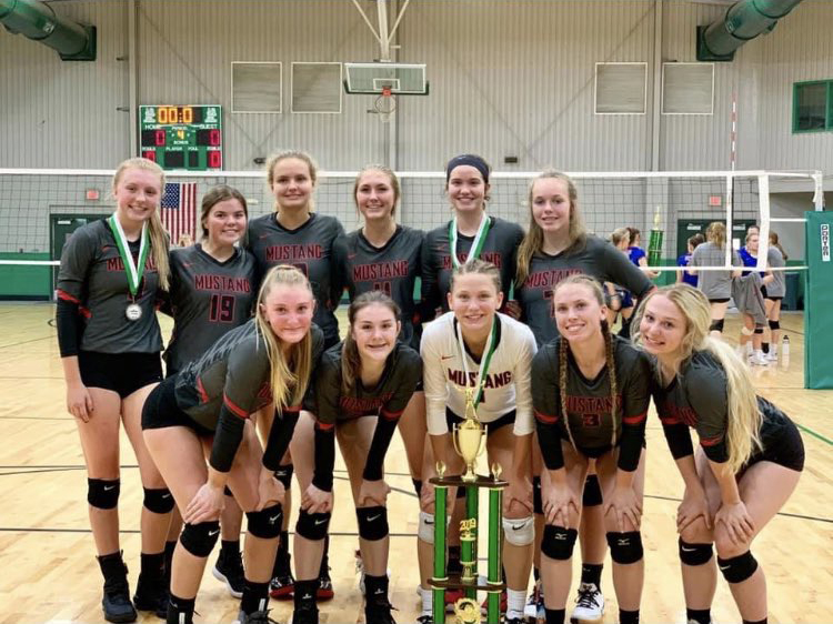 Mustang took first place in the Muskogee Tournament last weekend. (Provided photo)