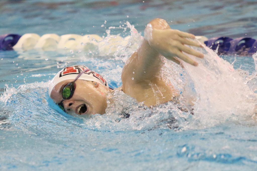 Hannah Hamilton is one of Mustang's top returning varsity swimmers this season. (File photo)