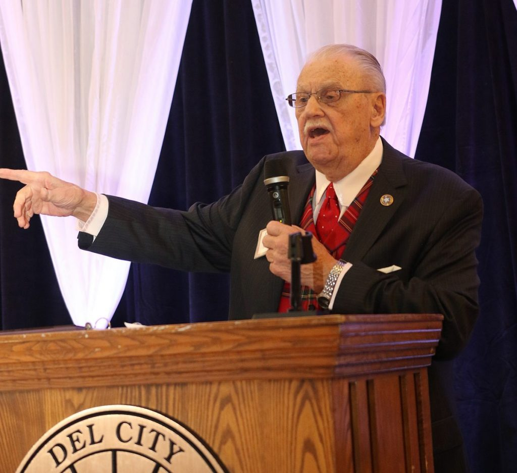 Ken Bartlett passed away Tuesday morning at age 90. He was a longtime public servant and advocate for Del City and the Mid-Del area. (File photo)