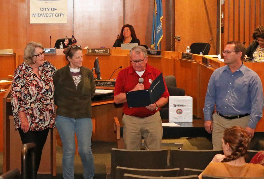 Mayor Matt Dukes reads a proclamation celebrating Small Business Saturday. (File photo)