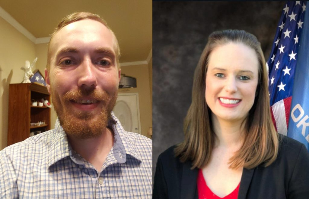 Franklin Paul Cromack (Left) and Lauren Rodebush (Right) are seeking the Republican nomination in the June 30 primary election for House 94. (Provided photos)