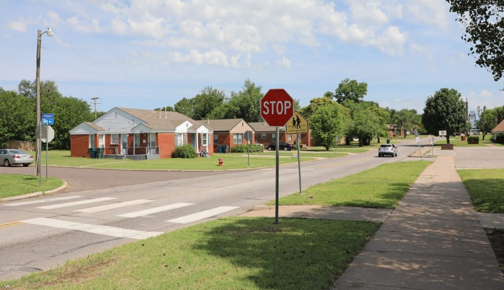 Midwest City will reconstruct Key Boulevard between Indian and Babb. (Photo by Jeff Harrison)