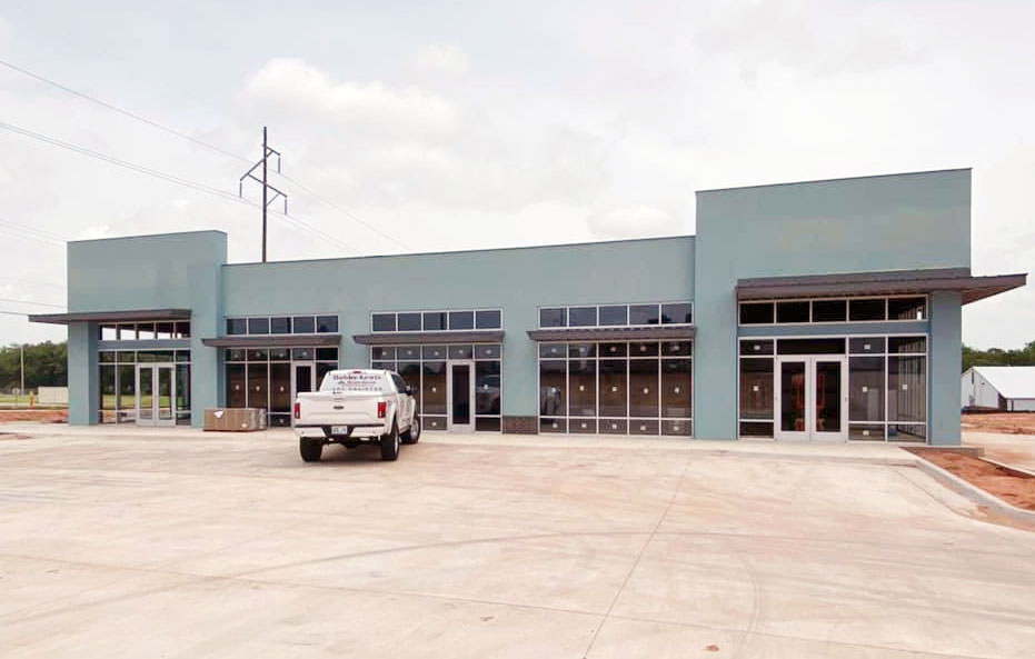 Newly constructed commercial metal buildings, similar to that recently built at Choctaw Road and SE 15th, must have a facade covering at least 75 percent of the street facing exterior wall. The recent City Council vote expanded this existing commercial rule citywide, and also added similar restrictions to agricultural and non-personal primary buildings built in residential areas. The change does not apply to accessory, secondary or building addons. PHOTO BY RYAN HORTON