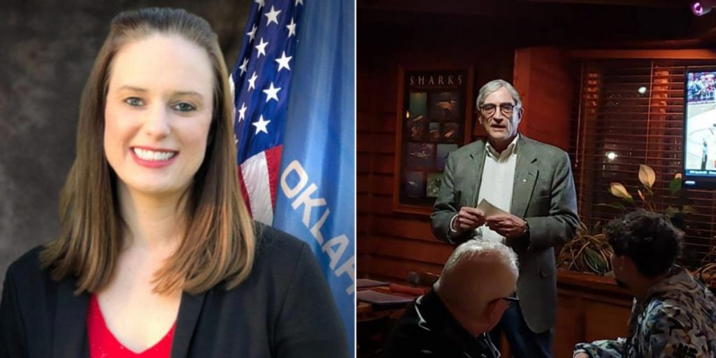 Laura Rodebush and Max Wolfley won the Republican nomination for State House District 94 and 95, respectively. (Photos provided)