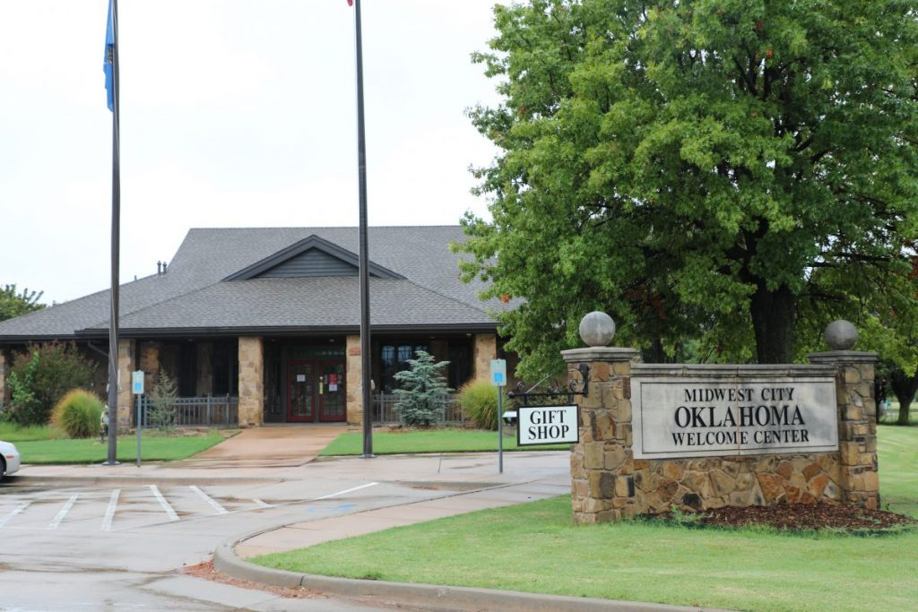 Midwest City canceled an agreement to run the Welcome Center. The State plans to remodel and reopen the building by the end of the year. (Photo by Jeff Harrison)