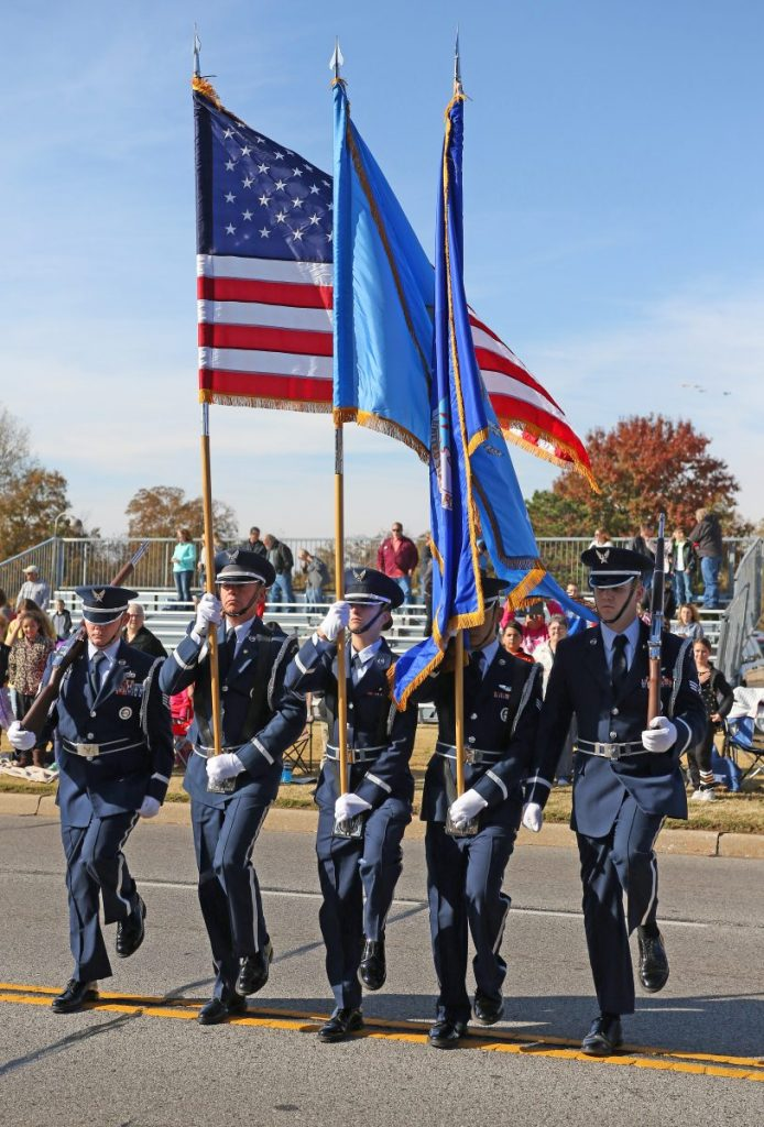 The Midwest City Veterans Day Parade has been postponed. (File photo)