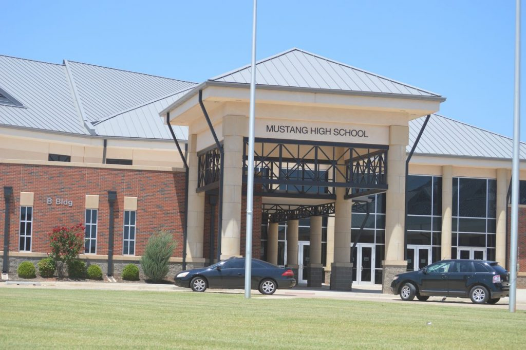 Mustang Public School District is the first in the state to approve an in-school quarantine program. (File photo)