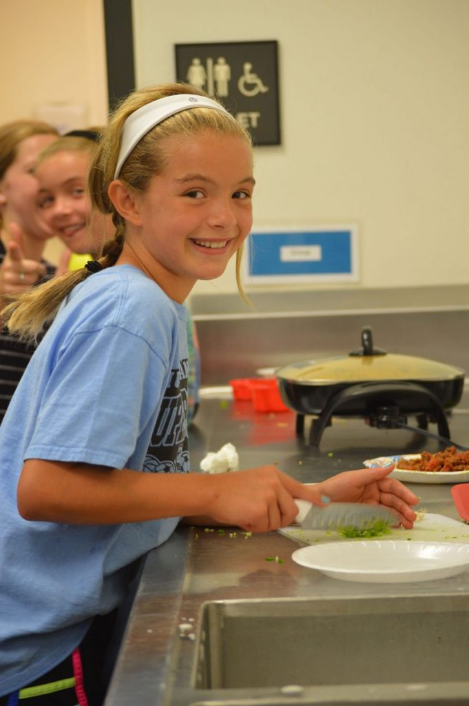 The library will host a healthy eating class for children and youth beginning in early February, similar to one sponsored by the city parks and recreation department in recent years. (Photo/Traci Chapman)