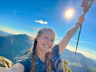 Ali Sylvester, a 2014 Mustang High School graduate, is walking the Appalachian Trail which extends 14 states. Photo Provided