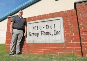 Joel Bain is the new executive director of the Mid-Del Group. Photo by Jeff Harrison